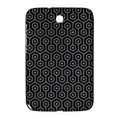 Hexagon1 Black Marble & Gray Colored Pencil Samsung Galaxy Note 8 0 N5100 Hardshell Case