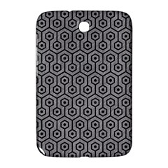 Hexagon1 Black Marble & Gray Colored Pencil (r) Samsung Galaxy Note 8 0 N5100 Hardshell Case