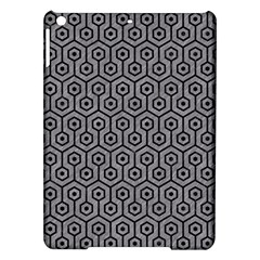 Hexagon1 Black Marble & Gray Colored Pencil (r) Ipad Air Hardshell Cases