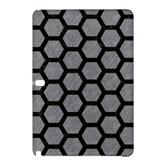 Hexagon2 Black Marble & Gray Colored Pencil (r) Samsung Galaxy Tab Pro 12 2 Hardshell Case