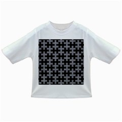 Puzzle1 Black Marble & Gray Colored Pencil Infant/toddler T Shirts