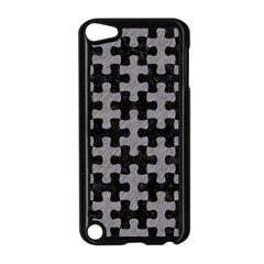 Puzzle1 Black Marble & Gray Colored Pencil Apple Ipod Touch 5 Case (black)