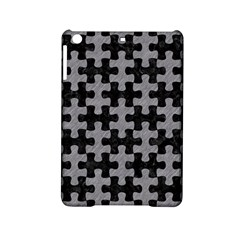 Puzzle1 Black Marble & Gray Colored Pencil Ipad Mini 2 Hardshell Cases