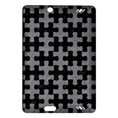 Puzzle1 Black Marble & Gray Colored Pencil Amazon Kindle Fire Hd (2013) Hardshell Case