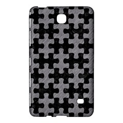 Puzzle1 Black Marble & Gray Colored Pencil Samsung Galaxy Tab 4 (8 ) Hardshell Case