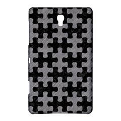 Puzzle1 Black Marble & Gray Colored Pencil Samsung Galaxy Tab S (8 4 ) Hardshell Case