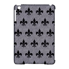 Royal1 Black Marble & Gray Colored Pencil Apple Ipad Mini Hardshell Case (compatible With Smart Cover)