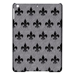 Royal1 Black Marble & Gray Colored Pencil Ipad Air Hardshell Cases