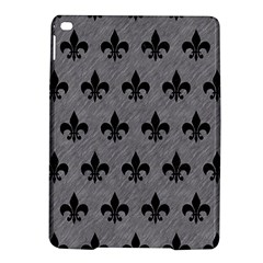 Royal1 Black Marble & Gray Colored Pencil Ipad Air 2 Hardshell Cases