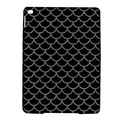 Scales1 Black Marble & Gray Colored Pencil Ipad Air 2 Hardshell Cases