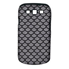 Scales1 Black Marble & Gray Colored Pencil (r) Samsung Galaxy S Iii Classic Hardshell Case (pc+silicone)