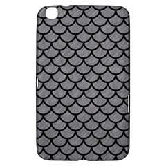 Scales1 Black Marble & Gray Colored Pencil (r) Samsung Galaxy Tab 3 (8 ) T3100 Hardshell Case