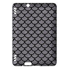 Scales1 Black Marble & Gray Colored Pencil (r) Kindle Fire Hdx Hardshell Case