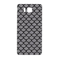 Scales1 Black Marble & Gray Colored Pencil (r) Samsung Galaxy Alpha Hardshell Back Case