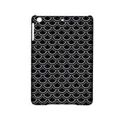 Scales2 Black Marble & Gray Colored Pencil Ipad Mini 2 Hardshell Cases