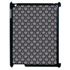 Scales2 Black Marble & Gray Colored Pencil (r) Apple Ipad 2 Case (black)