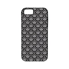 Scales2 Black Marble & Gray Colored Pencil (r) Apple Iphone 5 Classic Hardshell Case (pc+silicone)