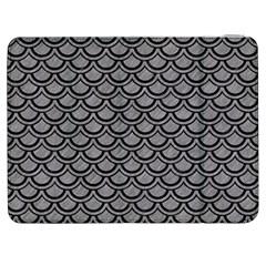Scales2 Black Marble & Gray Colored Pencil (r) Samsung Galaxy Tab 7  P1000 Flip Case