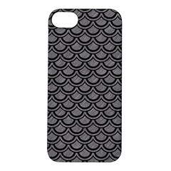 Scales2 Black Marble & Gray Colored Pencil (r) Apple Iphone 5s/ Se Hardshell Case