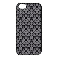 Scales2 Black Marble & Gray Colored Pencil (r) Apple Iphone 5c Hardshell Case
