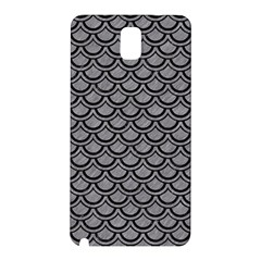 Scales2 Black Marble & Gray Colored Pencil (r) Samsung Galaxy Note 3 N9005 Hardshell Back Case