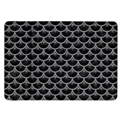 Scales3 Black Marble & Gray Colored Pencil Samsung Galaxy Tab 8 9  P7300 Flip Case