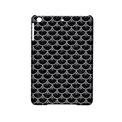Scales3 Black Marble & Gray Colored Pencil Ipad Mini 2 Hardshell Cases