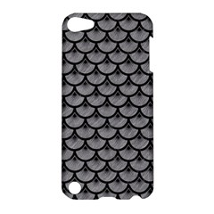 Scales3 Black Marble & Gray Colored Pencil (r) Apple Ipod Touch 5 Hardshell Case