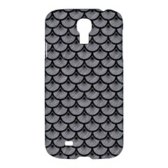 Scales3 Black Marble & Gray Colored Pencil (r) Samsung Galaxy S4 I9500/i9505 Hardshell Case