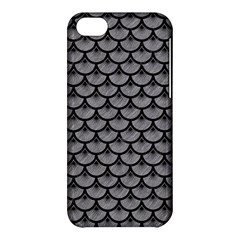 Scales3 Black Marble & Gray Colored Pencil (r) Apple Iphone 5c Hardshell Case