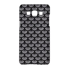 Scales3 Black Marble & Gray Colored Pencil (r) Samsung Galaxy A5 Hardshell Case
