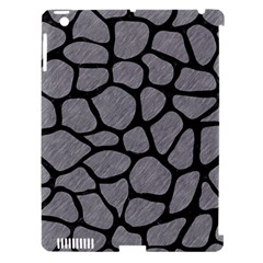 Skin1 Black Marble & Gray Colored Pencil Apple Ipad 3/4 Hardshell Case (compatible With Smart Cover)