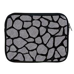 Skin1 Black Marble & Gray Colored Pencil Apple Ipad 2/3/4 Zipper Cases
