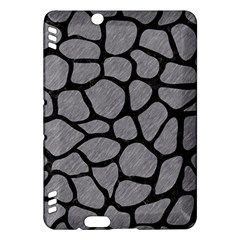 Skin1 Black Marble & Gray Colored Pencil Kindle Fire Hdx Hardshell Case