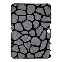 Skin1 Black Marble & Gray Colored Pencil Samsung Galaxy Tab 4 (10 1 ) Hardshell Case