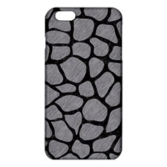 Skin1 Black Marble & Gray Colored Pencil Iphone 6 Plus/6s Plus Tpu Case