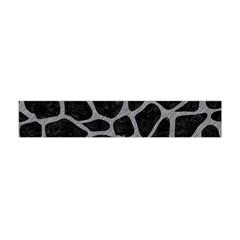 Skin1 Black Marble & Gray Colored Pencil (r) Flano Scarf (mini)