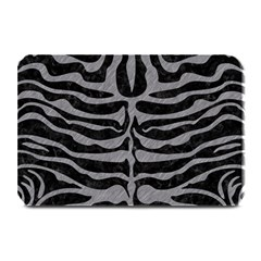 Skin2 Black Marble & Gray Colored Pencil Plate Mats