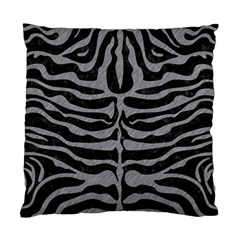 Skin2 Black Marble & Gray Colored Pencil Standard Cushion Case (one Side)