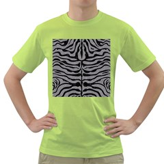 Skin2 Black Marble & Gray Colored Pencil (r) Green T Shirt