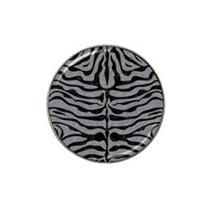 Skin2 Black Marble & Gray Colored Pencil (r) Hat Clip Ball Marker