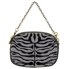 Skin2 Black Marble & Gray Colored Pencil (r) Chain Purses (one Side)