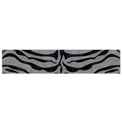 Skin2 Black Marble & Gray Colored Pencil (r) Flano Scarf (small)