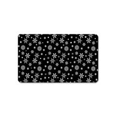 Xmas Pattern Magnet (name Card)