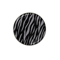 Skin3 Black Marble & Gray Colored Pencil Hat Clip Ball Marker (10 Pack)