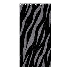 Skin3 Black Marble & Gray Colored Pencil Shower Curtain 36  X 72  (stall)
