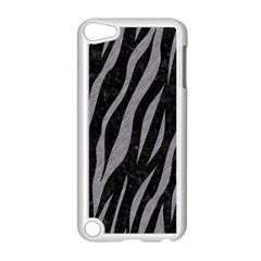 Skin3 Black Marble & Gray Colored Pencil Apple Ipod Touch 5 Case (white)