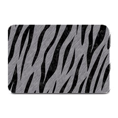 Skin3 Black Marble & Gray Colored Pencil (r) Plate Mats