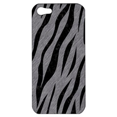 Skin3 Black Marble & Gray Colored Pencil (r) Apple Iphone 5 Hardshell Case
