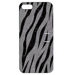 Skin3 Black Marble & Gray Colored Pencil (r) Apple Iphone 5 Hardshell Case With Stand